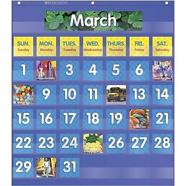 Teacher's Friend® Monthly Calendar Pocket Chart