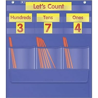 Scholastic Teacher's Friend Counting Caddie And Place Value Pocket Chart (TF-5105)