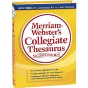 Merriam-Webster® Collegiate® Thesaurus, 2nd Edition