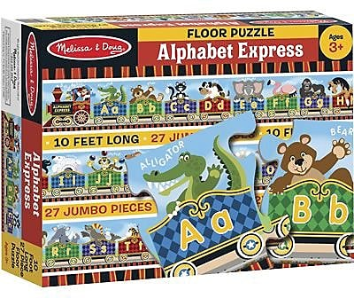 Lights Camera Interaction® Floor Puzzle, Alphabet Express