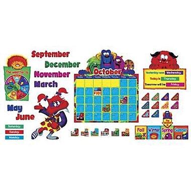 Trend Enterprises® Furry Friends™ Bulletin Board Set, Calendar