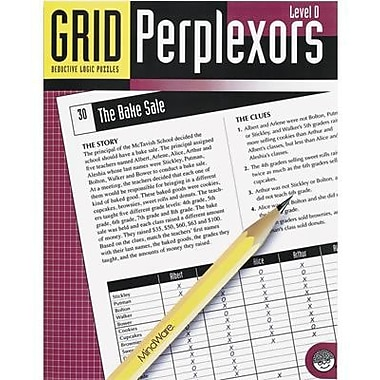 Mindware® Grid Perplexors Book, Level D