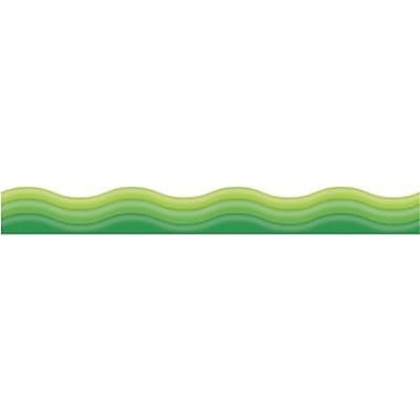 Trend Enterprises® Pre-kindergarten - 9th Grades Scalloped Terrific Trimmer, Green Vibe
