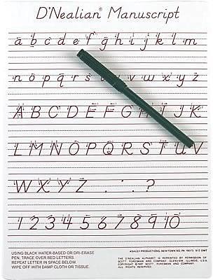 Ashley Write-On, Wipe-Off Boards, 9x12