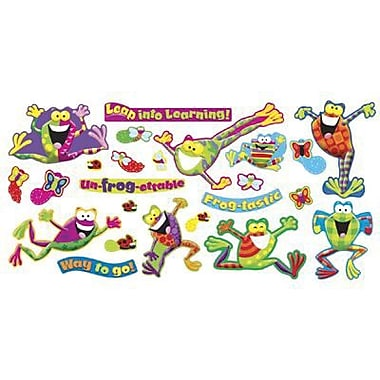 Trend Enterprises Frog-Tastic® Mini Bulletin Board Set, Frogs, 25/Set