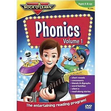 Rock 'N Learn Phonics Dvd, Volume 1 (RL-209)