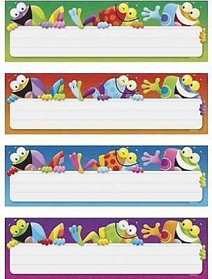 Trend® Desk Toppers® Name Plates, Frog Tastic