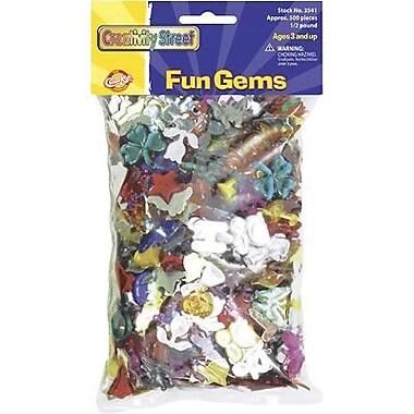 Chenille Craft® Fun Gemstone Assortment, 1/2 Pound