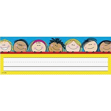 Creative Teaching Press, Infant - 6th Grades Name Plate, Smiling Stick Kid's, 216/Pack (CTP4492)