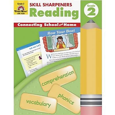 Evan-Moor Skill Sharpeners Reading Book, Grade 2 (EMC4530)