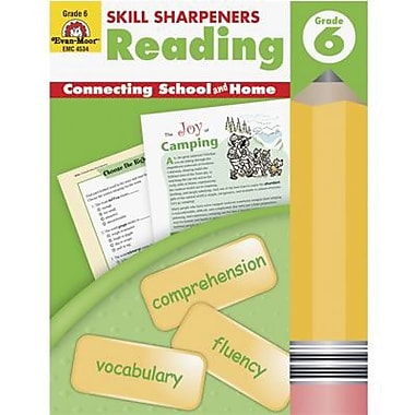 Evan-Moor® Skill Sharpeners Reading Book, Grades 6th
