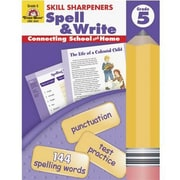Evan-Moor® Skill Sharpeners Spell and Write Book, Grades 5th
