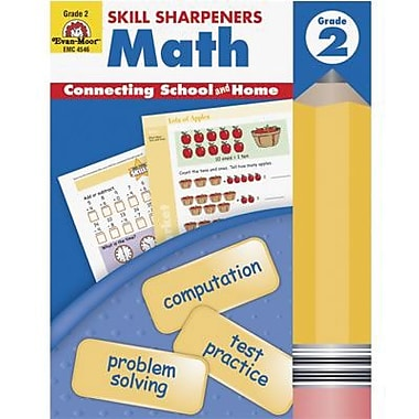Evan-Moor® Skill Sharpeners, Math, Grade 2