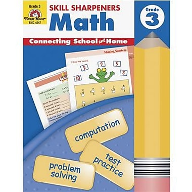 Evan-Moor® Skill Sharpeners Math Book, Grades 3rd