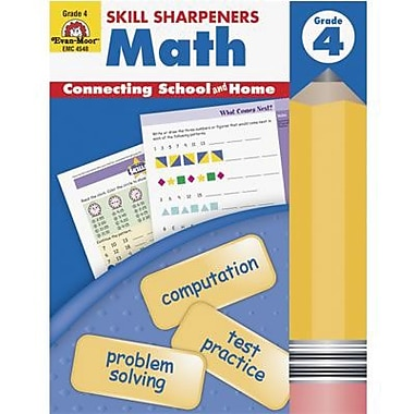 Evan-Moor® Skill Sharpeners Math Book, Grades 4th