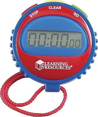 Learning Resources® Active Play, Simple Stopwatch