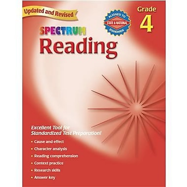 Spectrum Reading Workbook, Grade 4 (CD-704582)