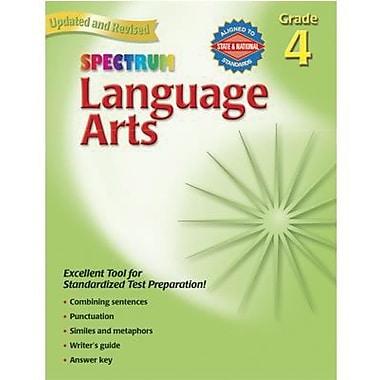 Spectrum Language Arts Workbook, Grade 4 (CD-704591)