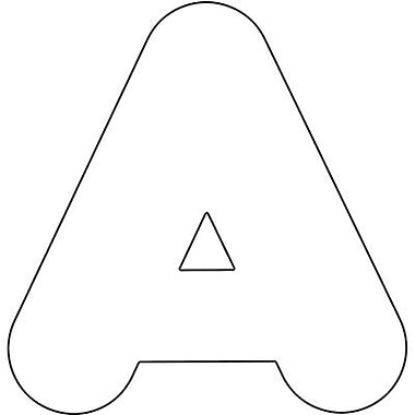 Trend Enterprises Casual Ready Uppercase Letter, 2