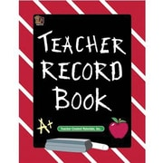 Teacher Created Resources Chalkboard Teacher Record Book, Grades Kindergarten - 12th