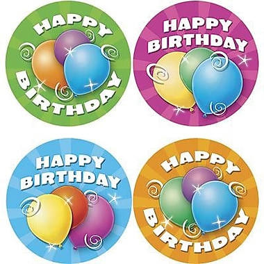 Teacher Created Resources Birthday Wear 'Em Badges, 32/Pack (TCR4054)