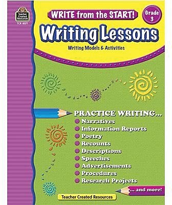 Write from the Start! Writing Lessons, Grade 3 (TCR8071)