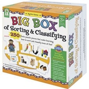Dellosa Carson – Jeu de tri et de classement de cartes Evan-Moor « Big Box of Sorting and Classifying Game » (KE-840010)