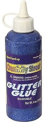 Chenille Kraft Glitter Glue 4 oz., 12/Bundle, Blue