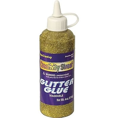 Chenille Kraft - Colle scintillante de 4 oz Ck-8535, 12/paquet