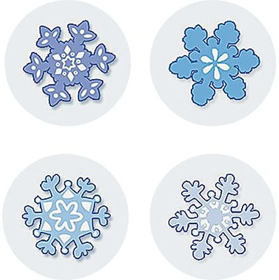 Teacher Created Resources Mini Stickers, Winter