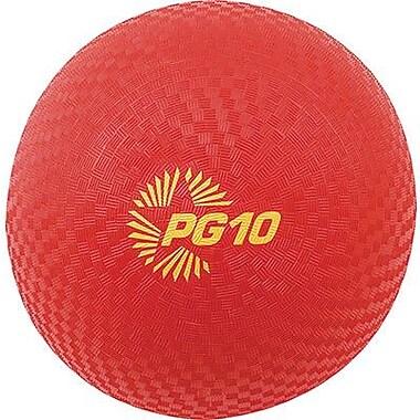 Champion Sports® Playground Ball, Red, 10
