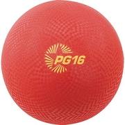 "Champion Sports® Playground Ball, Red, 16""(Dia)"