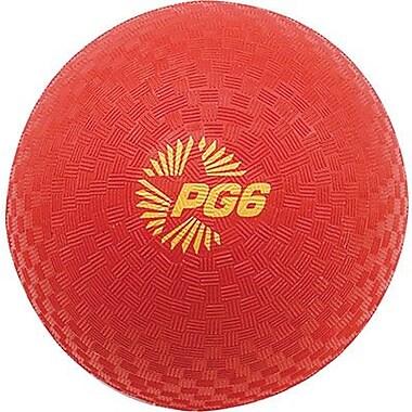 Champion Sports® Playground Ball, Red, 6
