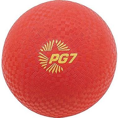 Champion Sports – Ballon de jeu Champion, rouge, 7 po (CHSPG7RD)