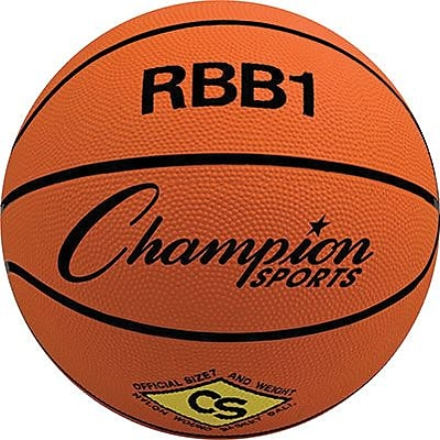 Champion Sports Official Size Basketball, 2 EA/BD