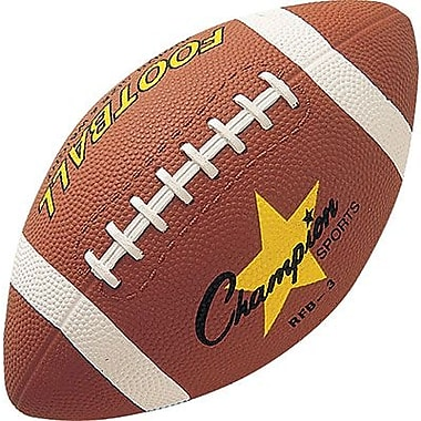 Champion Sports® Rubber Football, Brown