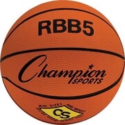 "Champion Sports® Basketball, 23"", Orange"