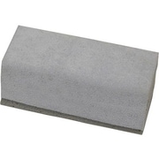 "Chenille Craft® 5"" Latex and Suede Chalkboard Eraser, Grey"