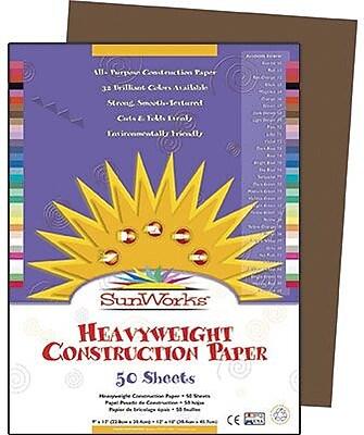 SunWorks® Construction Paper, 9x12