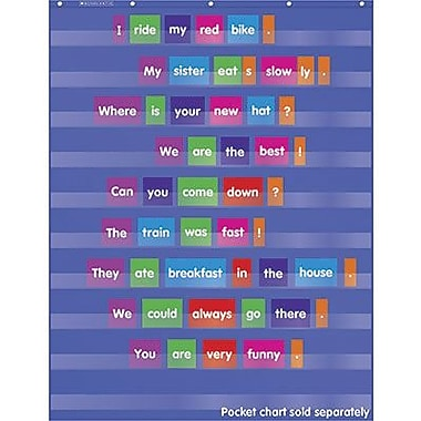 Teacher's Friend® Sentence Building Pocket Chart Add-Ons, Grades pre-kindergarten - 5th