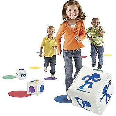 Learning Resources® Ready, Set, Move, Classroom Activity Set, 10