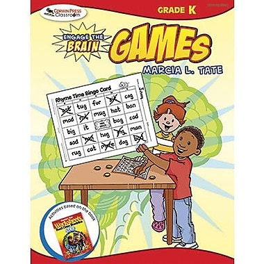 Corwin Engage The Brain Activity Games Book, Grades Kindergarten