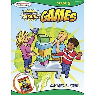 Corwin Engage The Brain Activity Games Book, Grades 5th