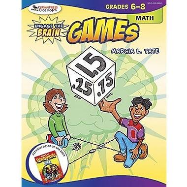 Corwin Engage The Brain Activity Games Book, Math