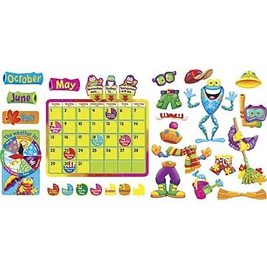Trend Enterprises® Frog-tastic® Bulletin Board Set, Calendar