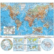 Kappa Map Group/universal Maps® Wall Map, World Advanced Physical