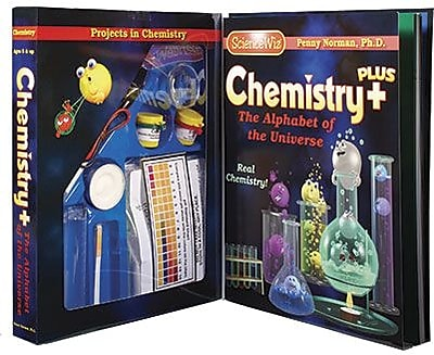 Science Wiz Chemistry Plus Science Kit