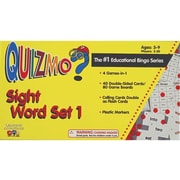 Learning Advantage Quizmo® Sight Word Set 1 Bingo Game, Grades Kindergarten - 4th
