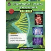 Teacher Created Resources® Differentiated Lessons and Assessments Science Resource Book, Grades 5th