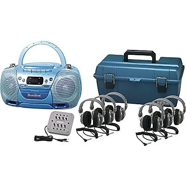 Hamilton Buhl 6 Person USB CD and Cassette Listening Center